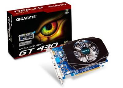 GEFORCE GT430 GIGABYTE 1GB DDR3 DVI HDMI 128