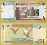 -- SUDAN 1 POUND 2006 AG P64 UNC