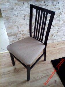 Komplet 4 Krzesła Agata Meble Wenge Krzesło