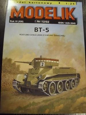 25 BT-5         1 Modelik 12//02