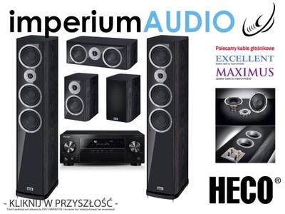 HECO MUSIC STYLE 900 CZARNE + PIONEER VSX-830 5.0