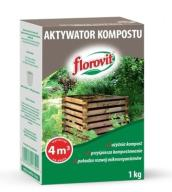 FLOROVIT AKTYWATOR KOMPOSTU GRANULOWANY 1KG
