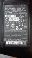 ORYGINALNY ZASILACZ SONY AC-LS5 4.2V 1.7A 11W