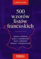 500 wzorów listów francuskich - Ewa Krajewska-