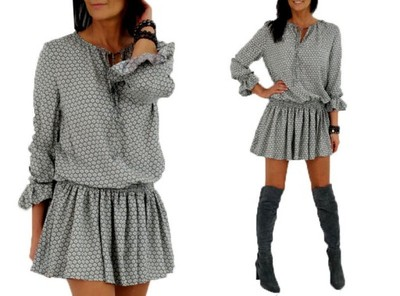 0bda57a3f4 By o la la - BOHO sukienka