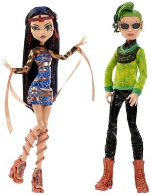 Monster High Boo York Komplet Lalek Cleo I Deuce 6776334107 Oficjalne Archiwum Allegro