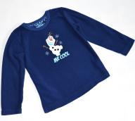 Disney, miły granatowy polar Frozen 5 lat / 110 cm