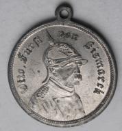 Medal Prusy - kanclerz Otto Bismarck 70 urodziny