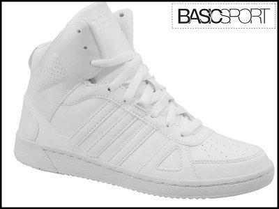 buty adidas białe za kostke
