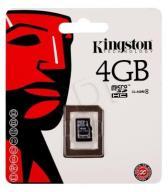 Kingston micro SDHC SDC4/4GBSP 4GB Class 4