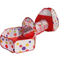 Namiot Domek Ogrodowy z Tunelem dla Dzieci
