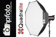 Softbox Quadralite Flex 120cm OKTA - parasolkowy