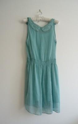 sukienka mgiełka Zara 38 40