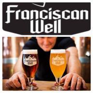 FRANCISCAN WELL szklanka pokal half pint IRLANDIA