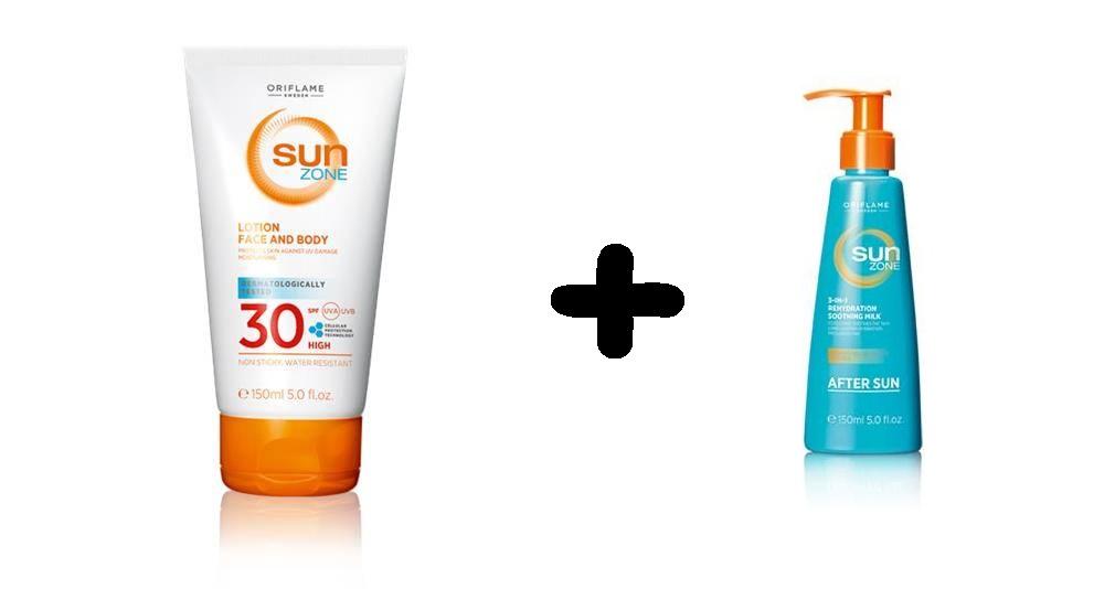 Oriflame Sun Zone Balsam do opalania + po opalaniu