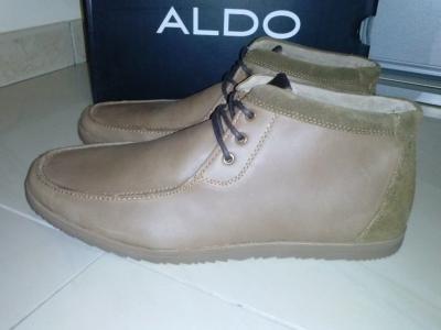 958f7973f75f1 Skórzane buty męskie ALDO ROMY-28 brązowe roz.45 - 5380645033 ...
