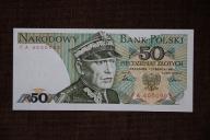 Polska 50 złotych 1986 rok ser. FA UNC RZADKI !!!