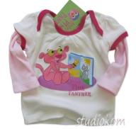 86cm T-shirt niemowlęcy Baby Pink Panther A189 N
