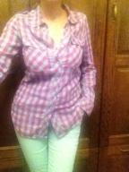 Spodnie Top Secret mięta r.38 M+bluzka+koszulaHM