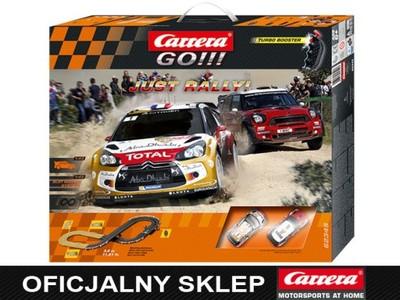 Carrera GO!!! Just Rally! 62345 Tor Samochodowy