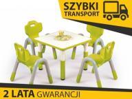 SIMBA stolik stół kwadrt dla dzieci zielony SZYBKO