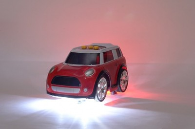 Auto Samochód Dźwięk I światło Led Mini Morris 6680638857