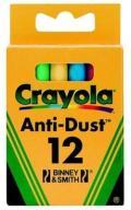 Crayola Kreda niepyląca kolorowa 12 szt.