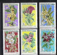 KONGO Kwiaty kwiat Mi:272/77**
