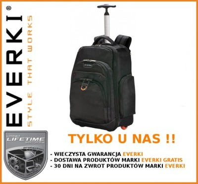 1050ed8eda1d1 Plecak torba na kółkach EVERKI Atlas 13 -17.3   - 6029518843 ...