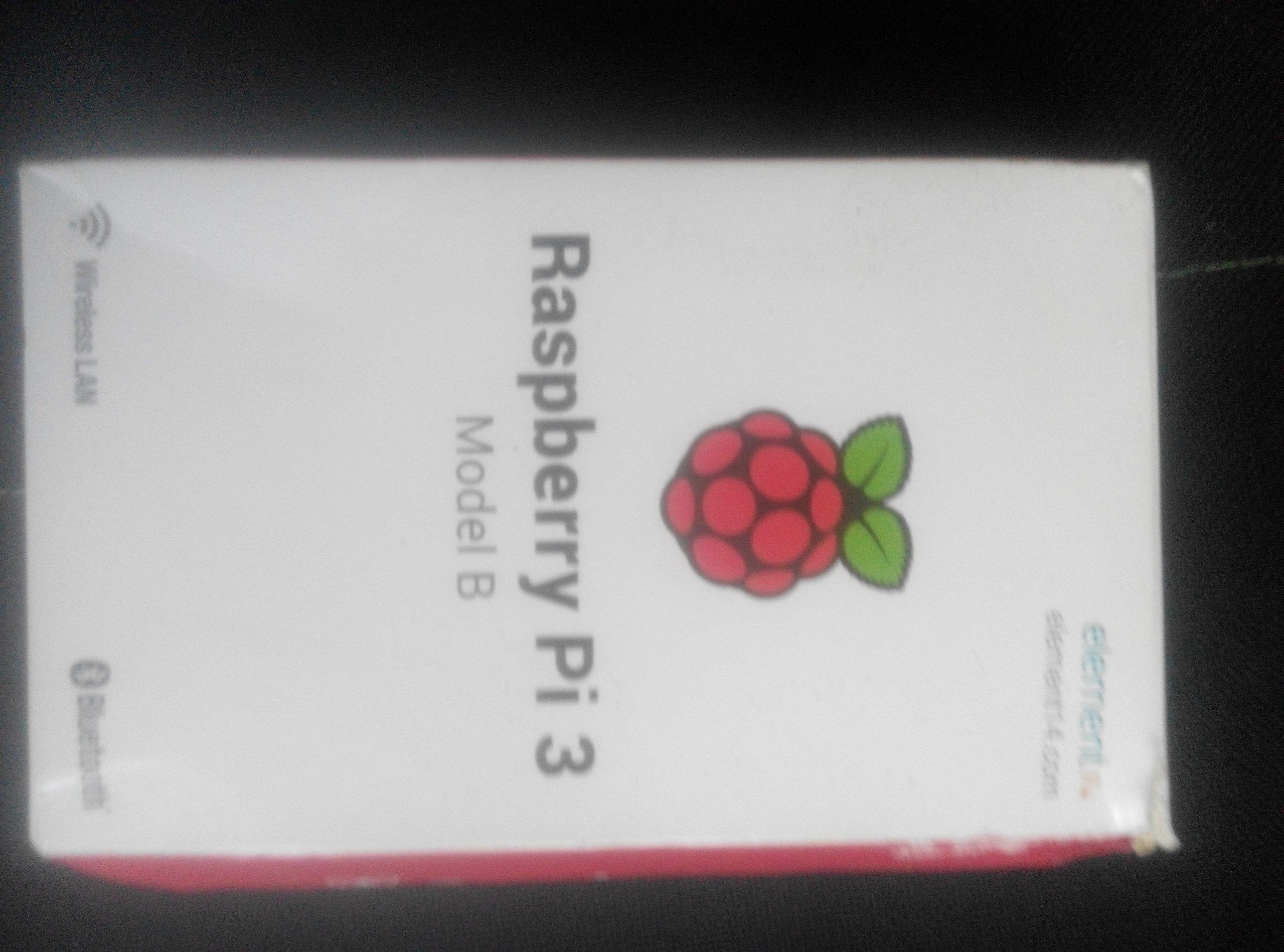 Raspberry Pi 3 model B nie testowany Mikrokomputer