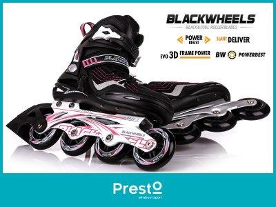 d78e6055a Rolki fitness damskie Race Blackwheels r.42 - 6301856869 - oficjalne ...