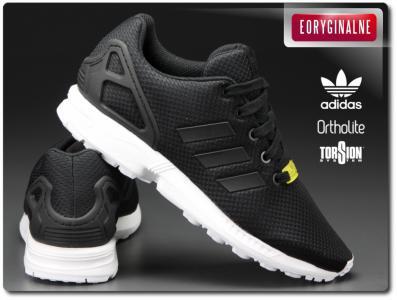 adidas zx flux k damskie czarne