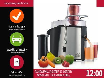 Sokowirówka Camry CR 110, moc 1000 W kup online | eMAG.pl