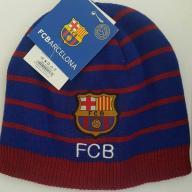 Czapka zimowa * FC BARCELONA *