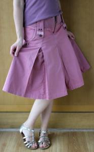 różowa spódnica CROPP rozmiar S