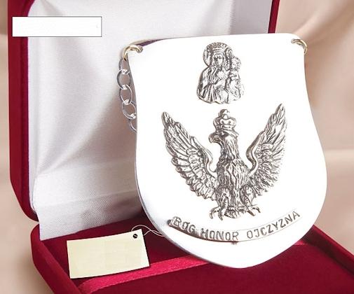 Srebrny Ryngraf Patriotyczny, prezent, chrzest