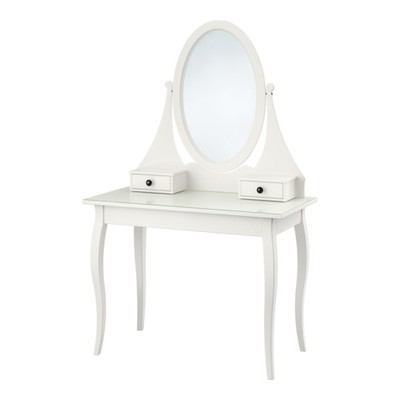 Toaletka Ikea Hemnes Biała Lustro 6802367006 Oficjalne Archiwum
