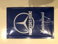 Plakat szyld Mercedes-Benz Kundendienst