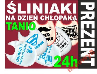 Sliniak Sliniaki Nadrukiem Prezent Dzien Chlopaka 5646375331 Oficjalne Archiwum Allegro