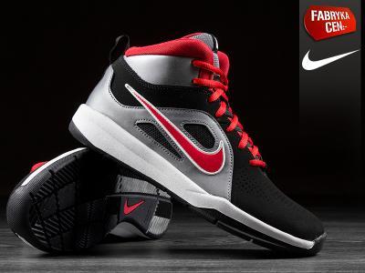 Buty młodzieżowe NIKE TEAM HUSTLE 599187006 Basket Zdjęcie