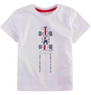 ENDO Bluzka z krótkim rękawem dla dziecka (r.98)