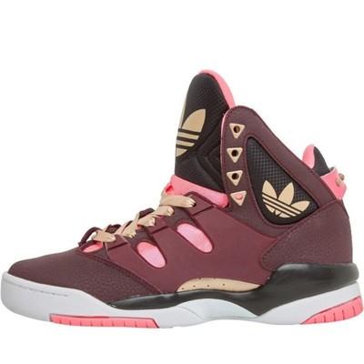 buty dziecięce adidas fioletowe wysokie