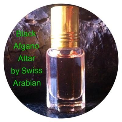 BLACK AFGANO ATTAR by Swiss Arabian 3ml roll on