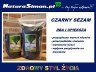 SEZAM CZARNY 250g NaturaSiman.pl SUSHI