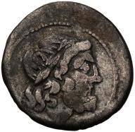 Rzym - Republika AR-Victoriatus 211-206 p.n.e. s3-