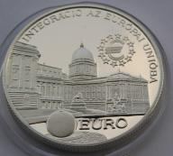 Węgry 1997r. 2000 Ft - Zamek w Budapeszcie (Ag)