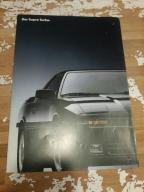 Toyota supra prospekt, folder  retro