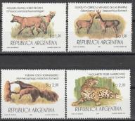 ARGENTYNA 1983** FAUNA Ssaki pełna seria
