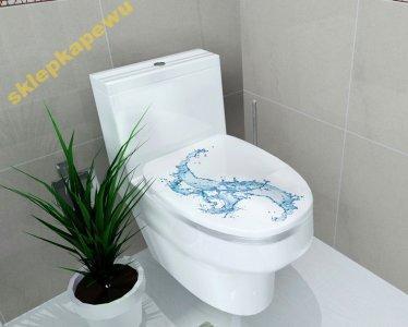 Naklejka Do łazienki Wc Naklejki 6 Wzorów W 3d