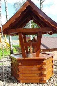 Drewniana Studnia Ozdobna 6445669527 Oficjalne Archiwum